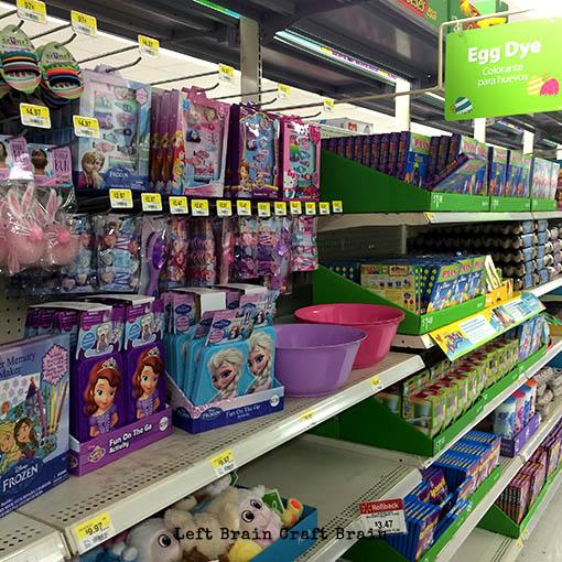 Disney Easter at Walmart