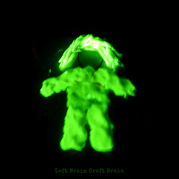 Mad Scientist Glow in the Dark Left Brain Craft Brain