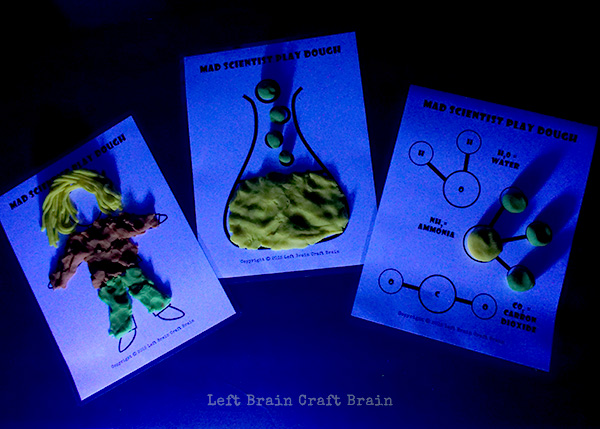 Mad Scientist Printables Left Brain Craft Brain