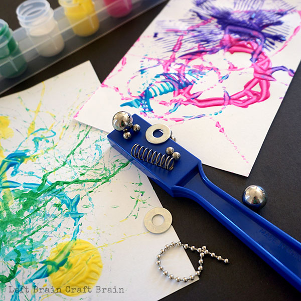 Five Minute Craft Magnet Painting Left Brain Craft Brain