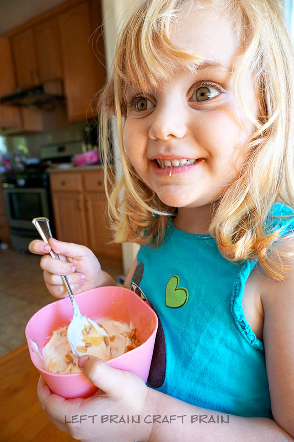 Sampling Yogurt Left Brain Craft Brain