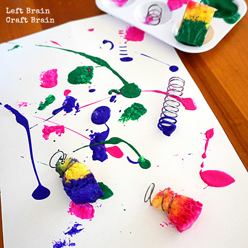 Spring Painting Left Brain Craft Brain