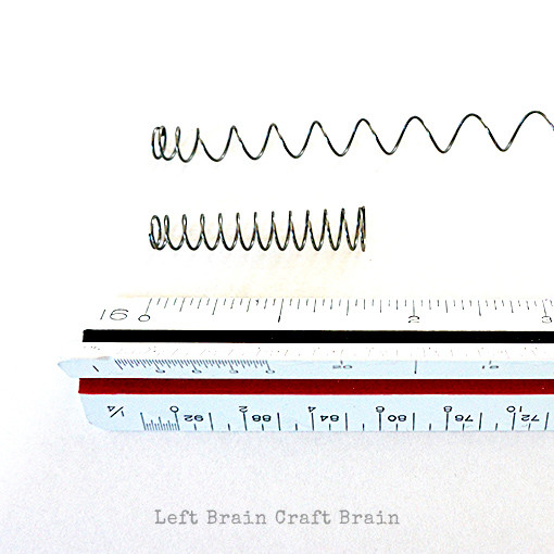 Stretched Spring Left Brain Craft Brain 2