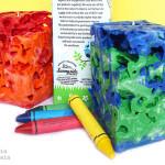 Milk Carton Crayon Ice Candles