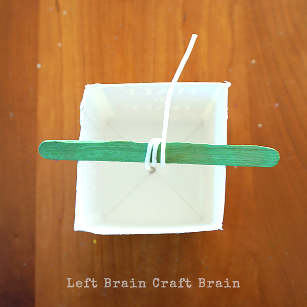 Popsicle Stick Left Brain Craft Brain