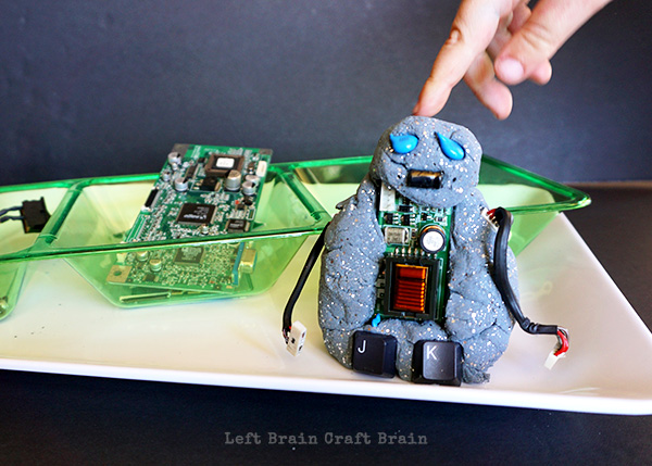 Robot Playdough