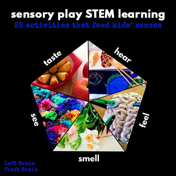 Sensory Play STEM Learning Left Brain Craft Brain FB