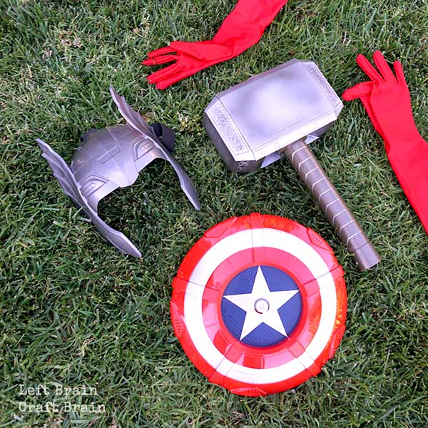 Superhero Tools Left Brain Craft Brain