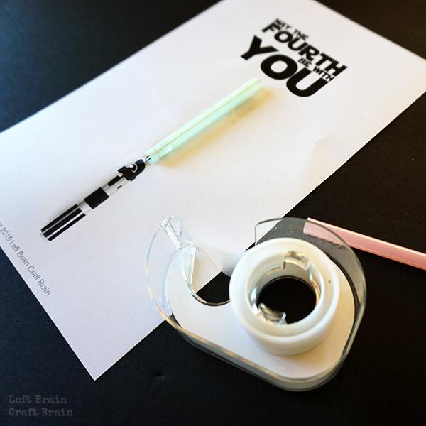 Tape Straw Closeup LBCB