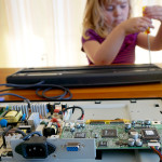 Preschool STEM Play: Computer Deconstruction