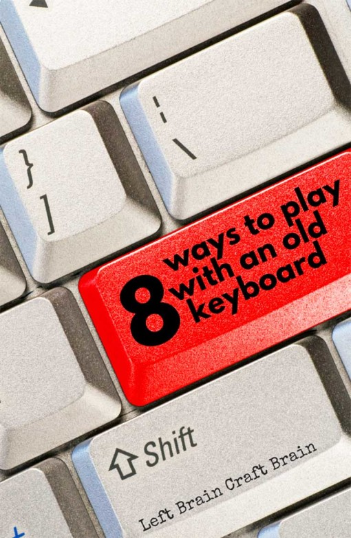 An old recycled keyboard gives kids tons of ways to play and learn. STEM learning made fun.