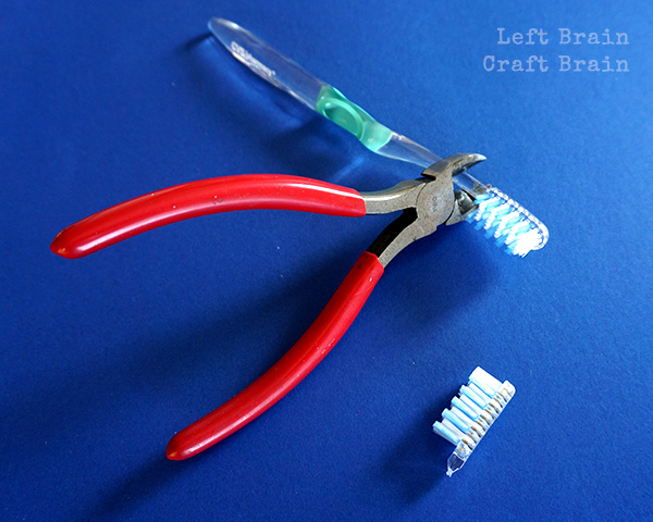 Cut Toothbrush LBCB