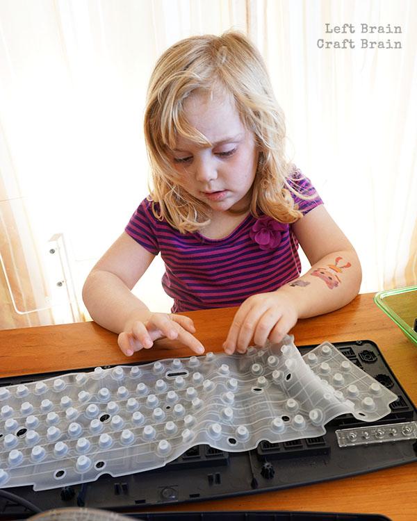 Feeling Keyboard Pad LBCB