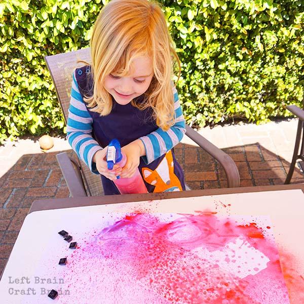 Keyboard Spray Painting LBCB