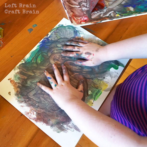 Messy Finger Painting LBCB