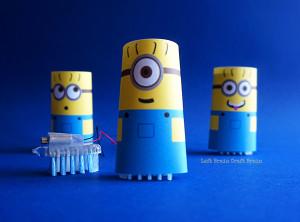 Minion Brush Bots