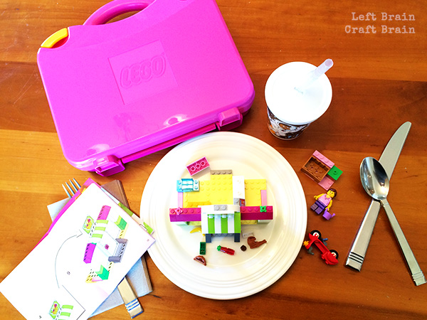 LEGO table Left Brain Craft Brain