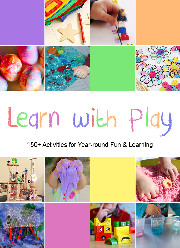 This book is packed with play & learn activities for kids!