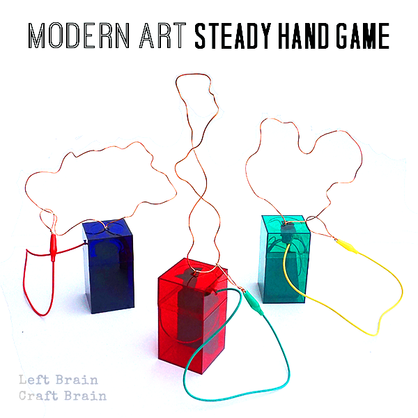 STEAM Camp: How to Make a Modern Art Steady Hand Game - Left