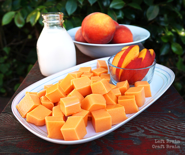 Peaches and Cream Fruit Gummies LBCB FB