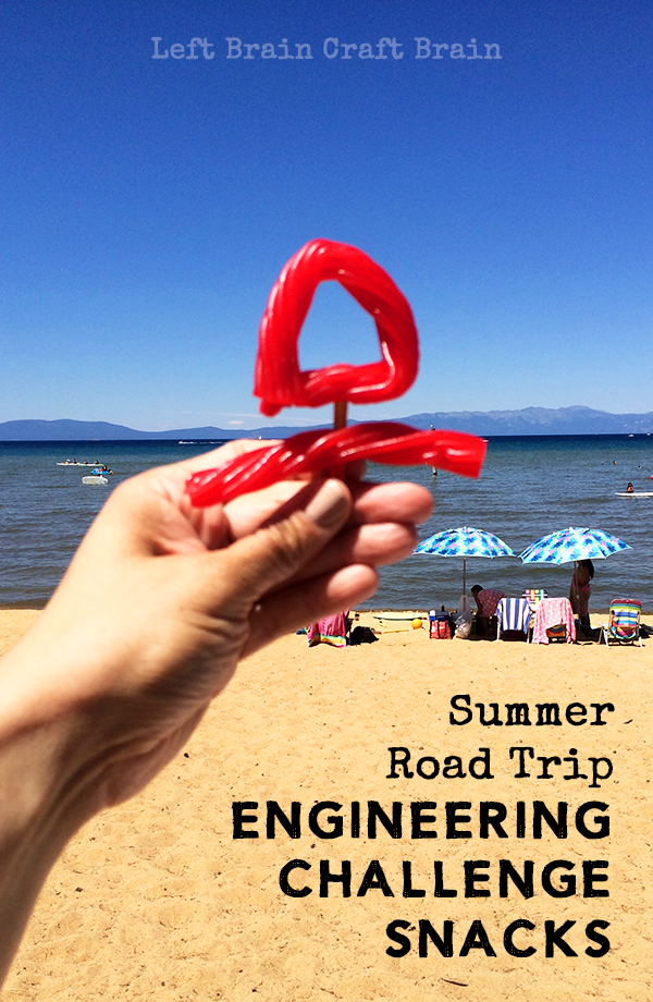 Have fun with your food with these Summer Road Trip Engineering Challenge Snacks.
