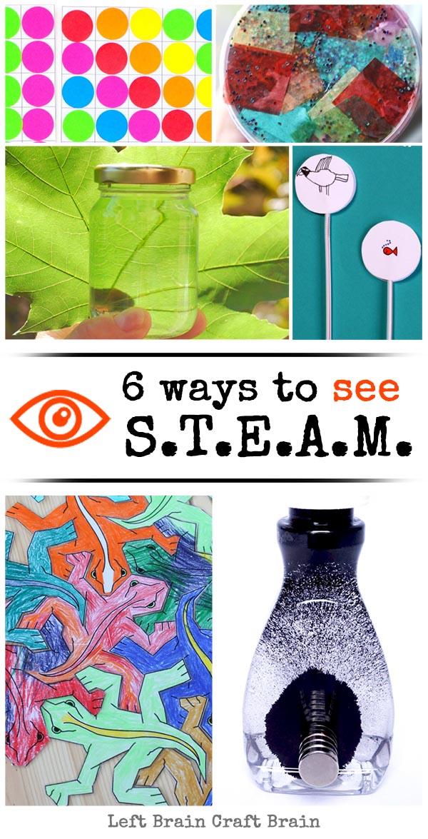 6 Ways to See STEAM