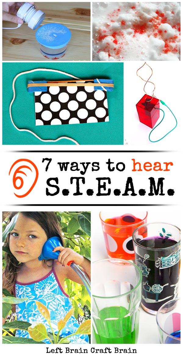 7 Ways to Hear STEAM