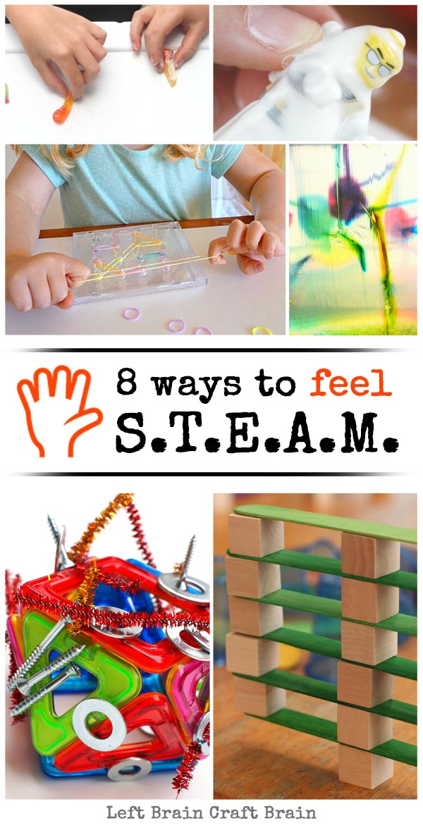 8 Ways to Feel STEAM