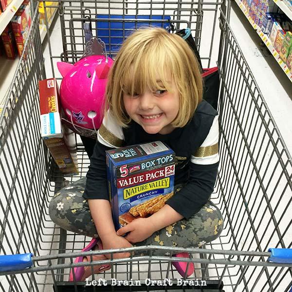 Box Top Grocery Cart Left Brain Craft Brain