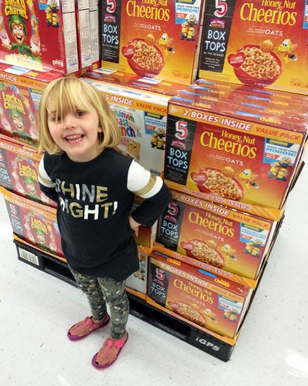 Cheerios Box Tops Left Brain Craft Brain