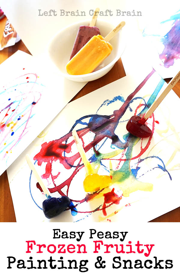 Easy Peasy Frozen Fruity Painting and Snacks LBCB