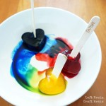 Easy Peasy Frozen Fruity Painting and Snacks