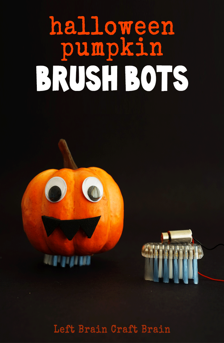 These fun and educational Halloween pumpkin brush bots are perfect for your STEM / STEAM lessons in class (or at home!) this Halloween.