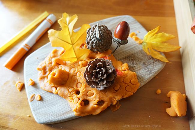 Pumpkin Pie Spice Playdough