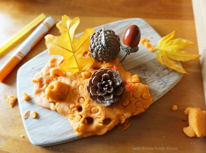 Pumpkin Pie Spice Play Dough
