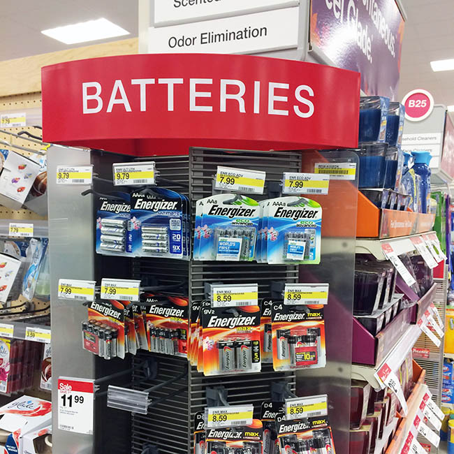 Energizer Eco at Target
