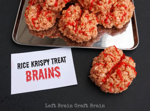 Rice Krispy Treat Brains