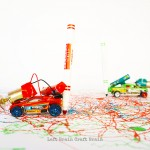 Upcycled Toy Car Marker Bots