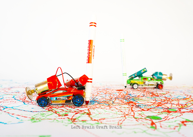 red-and-green-toy-car-marker-bots-Left-Brain-Craft-Brain2