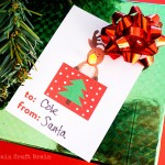 Christmas STEM: Light Up Holiday Gift Tags