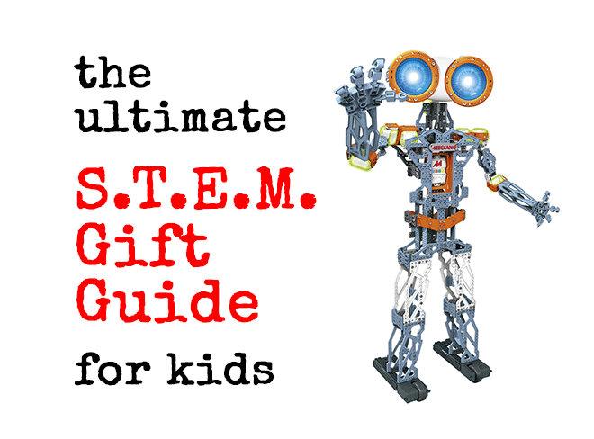 Find the toys your kids want with the Ultimate STEM Gift Guide for Kids.