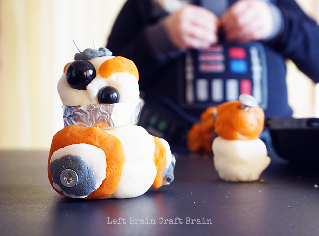BB8 with Darth in Background 2 Left Brain Craft Brain