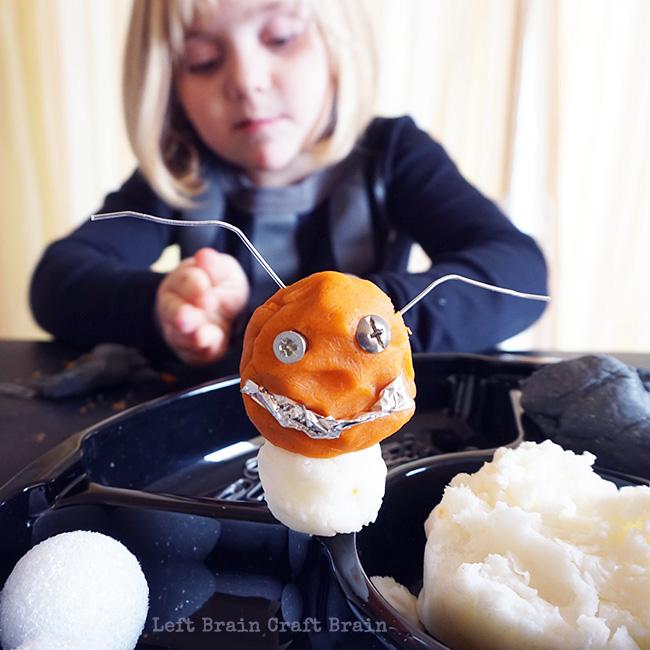 Smiley Face Bot 2 Left Brain Craft Brain