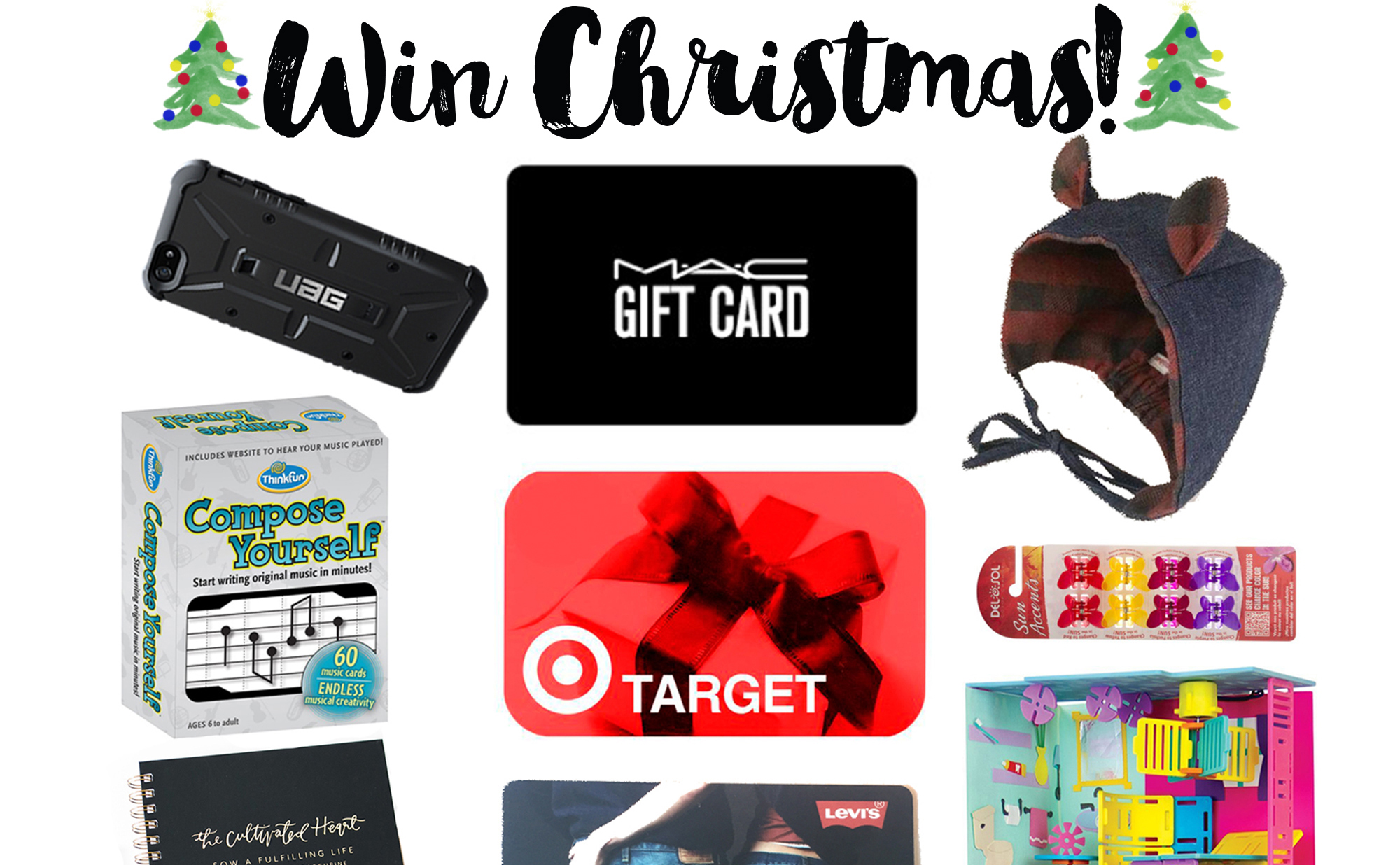 Win for the Whole Family Christmas Giveaway - Left Brain Craft Brain
