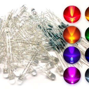 microtivity-IL188-5mm-Assorted-Clear-LED-w-Resistors-8-Colors-Pack-of-80-0