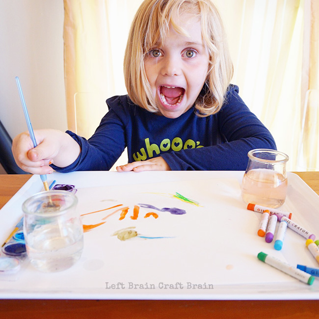 Art is Exciting Left Brain Craft Brain
