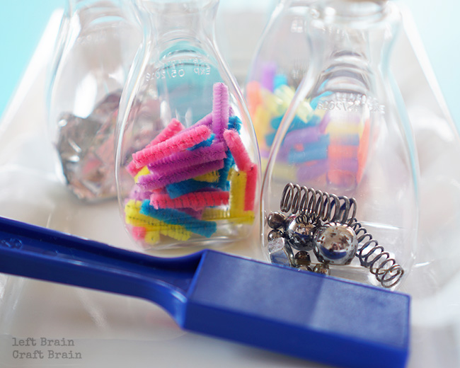Magnetic Bottles Closeup