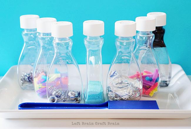 Magnetic Learning Center Set Left Brain Craft Brain