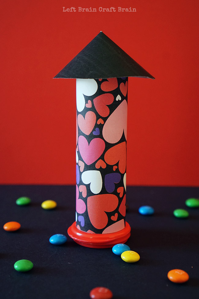 Single Valentine Rocket Left Brain Craft Brain