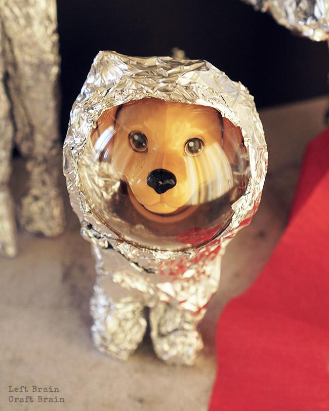 Space Dog Closeup LBCB